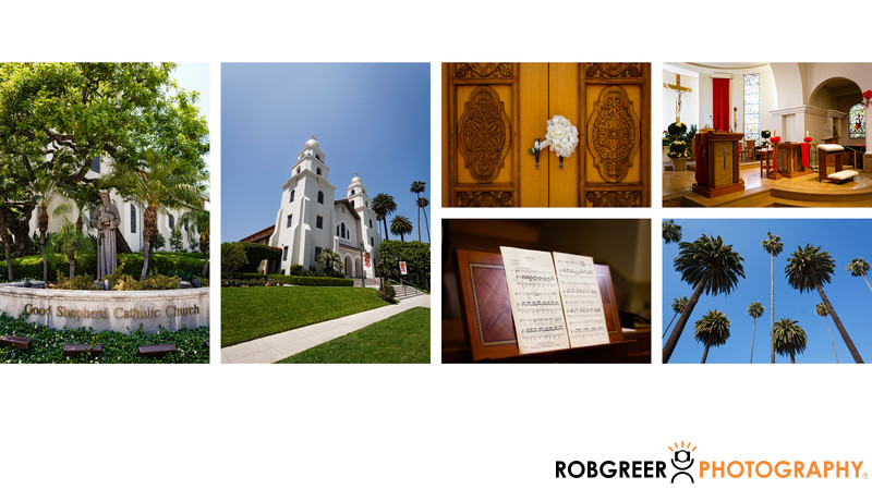 Good Shepherd Catholic Church Details In Beverly Hills Sls Hotel Beverly Hills Wedding Album