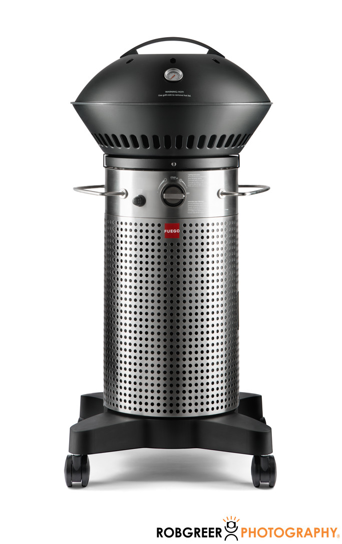 Outdoor Grill Appliance Product Photography