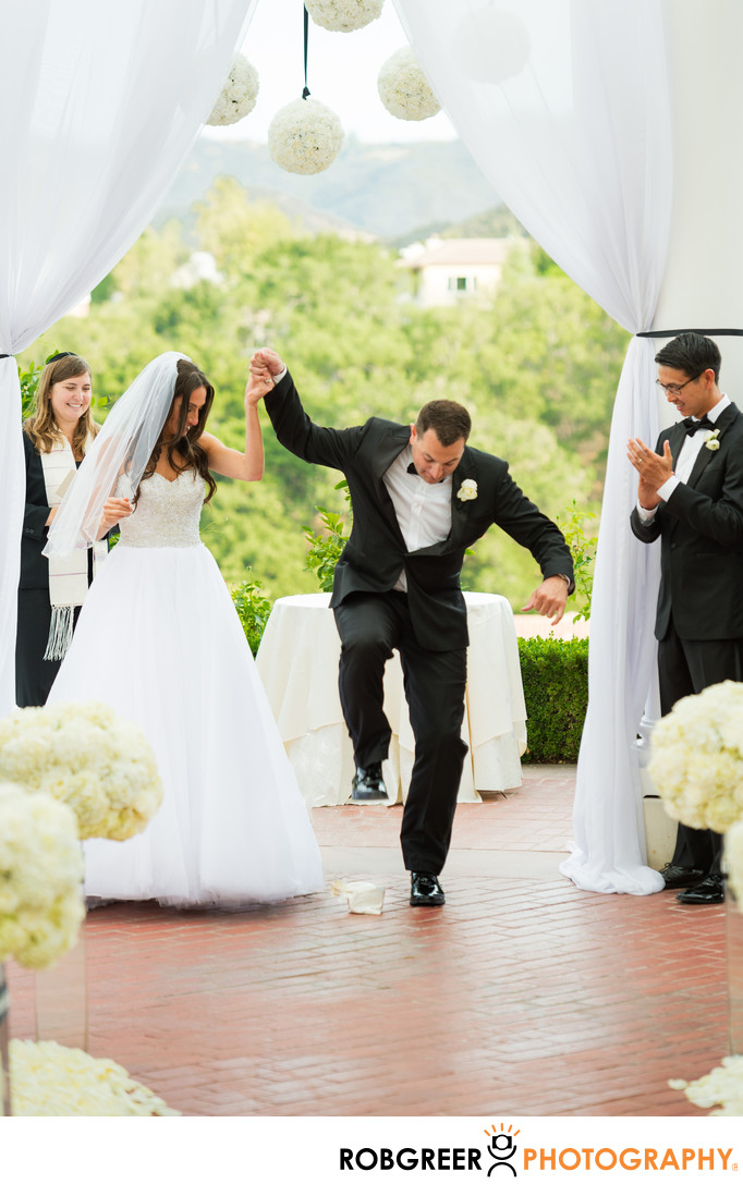 Breaking the glass at jewish wedding ceremony breaking the glass jewish wedding welcome to - Breakable wedding glass ...