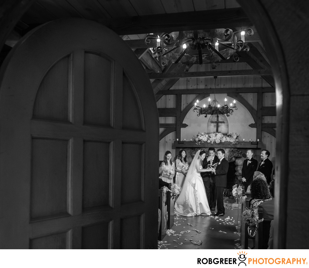 Wedding Ceremony At Buerge Chapel Los Angeles