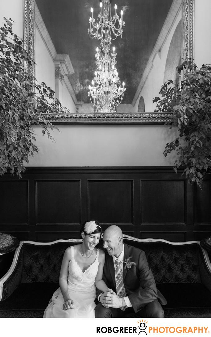 Wedding Celebration at Culver Hotel in Culver City