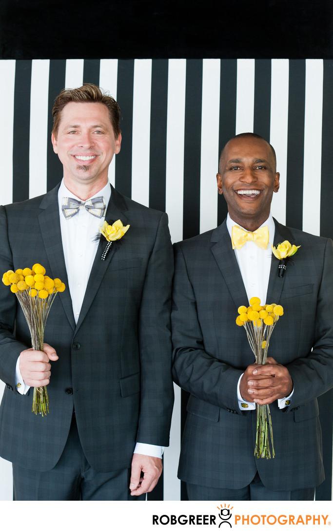 Hotel Maya Same Sex Wedding Photographer