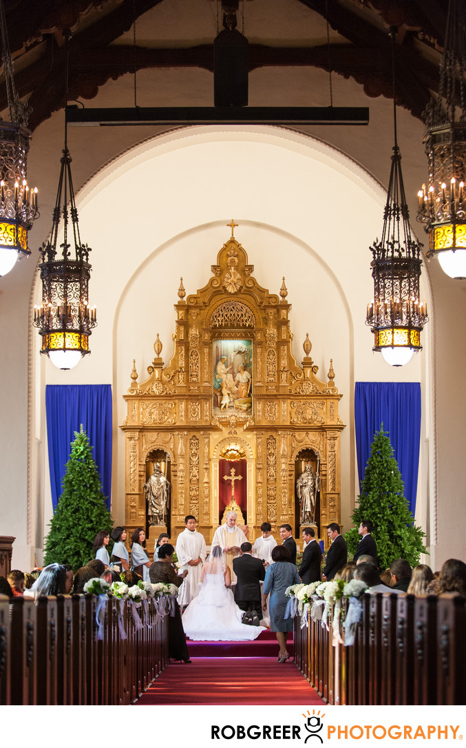 Holy Family Church Wedding Photographer