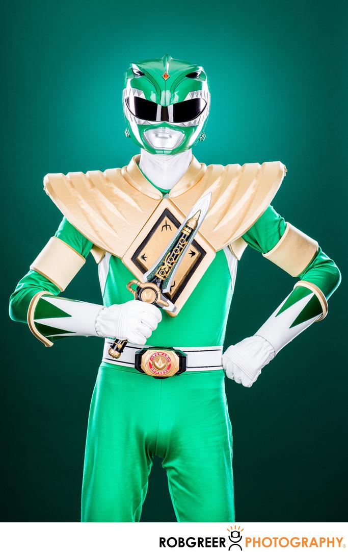 Jared Aldridge, Green Power Ranger