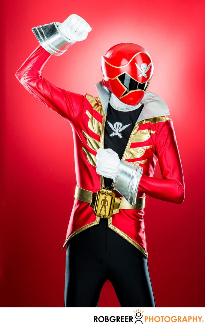 Jared Aldridge, Red Power Ranger