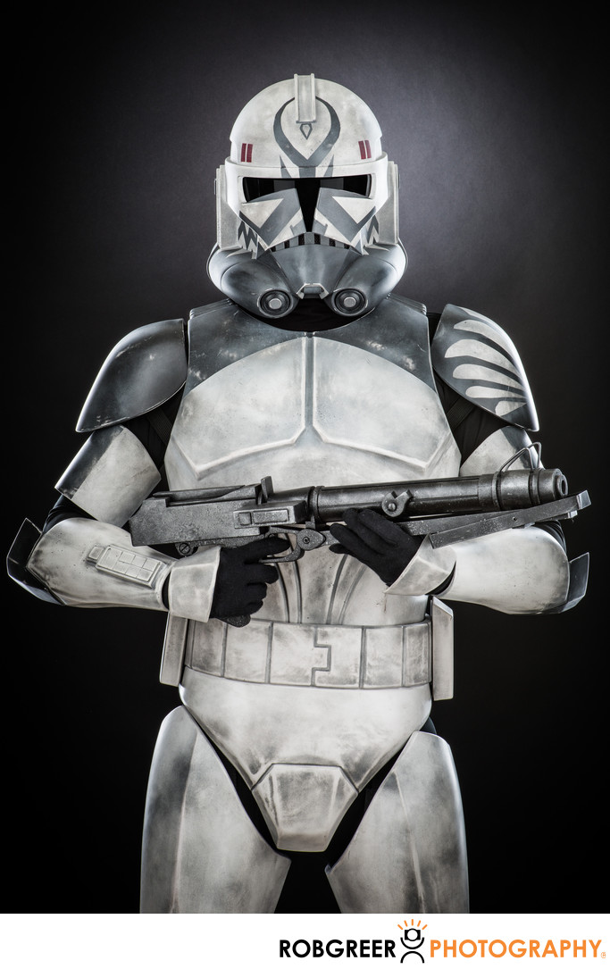 Ernest Flores, Gray Clone Trooper (CT-41911)