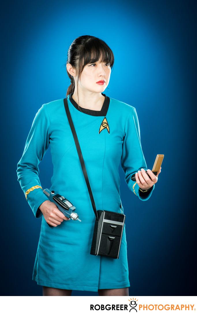 Grace Chang, Enterprise Away Team