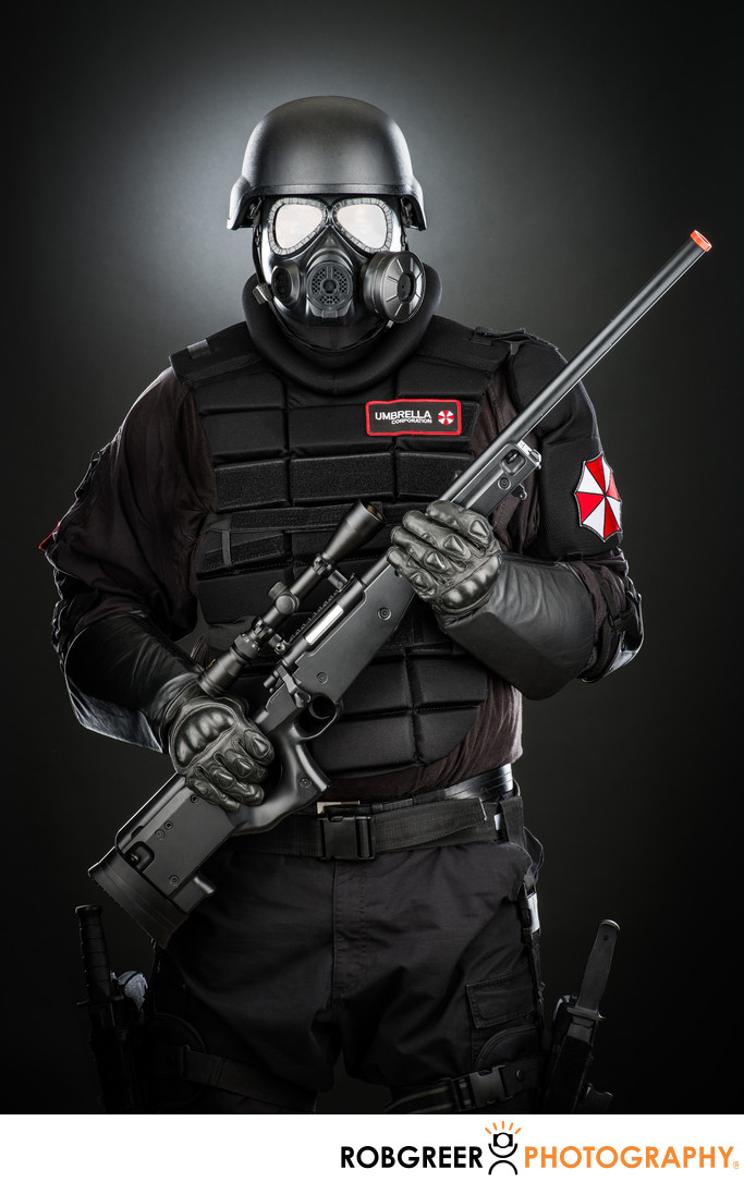 Edwin Johnson, Umbrella Corporation Guard