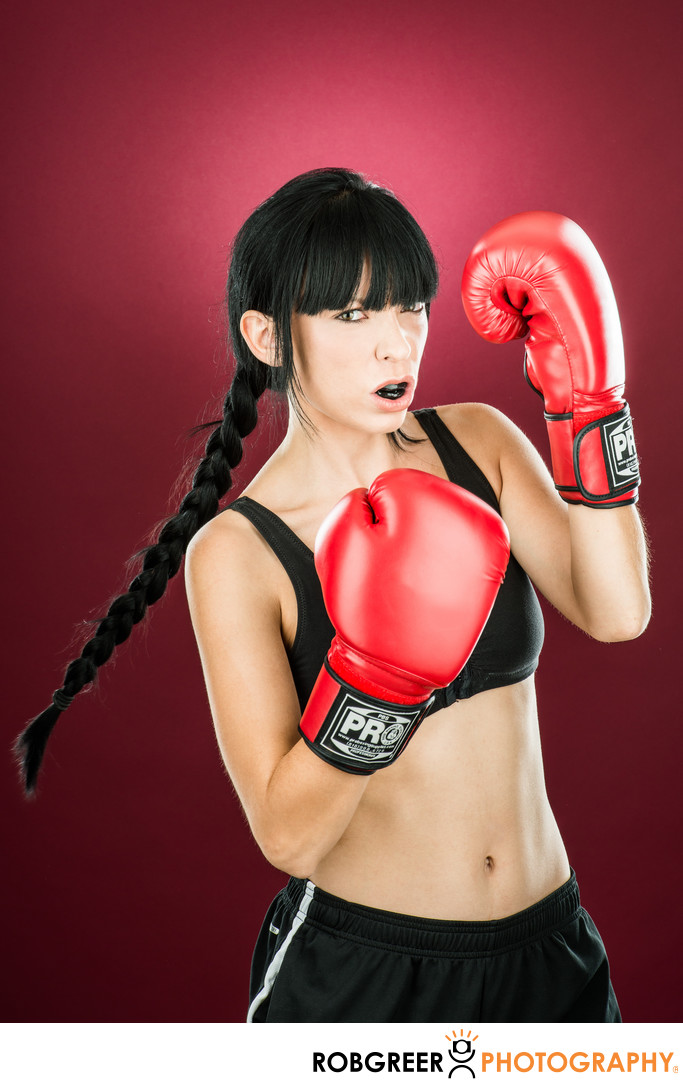 Elle Sonnet, Fitness Kickboxer