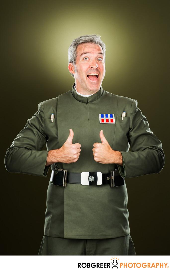 Scott Allen, Imperial Officer