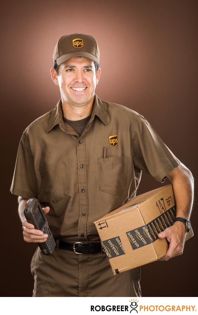 Hector Gallegos, UPS Driver