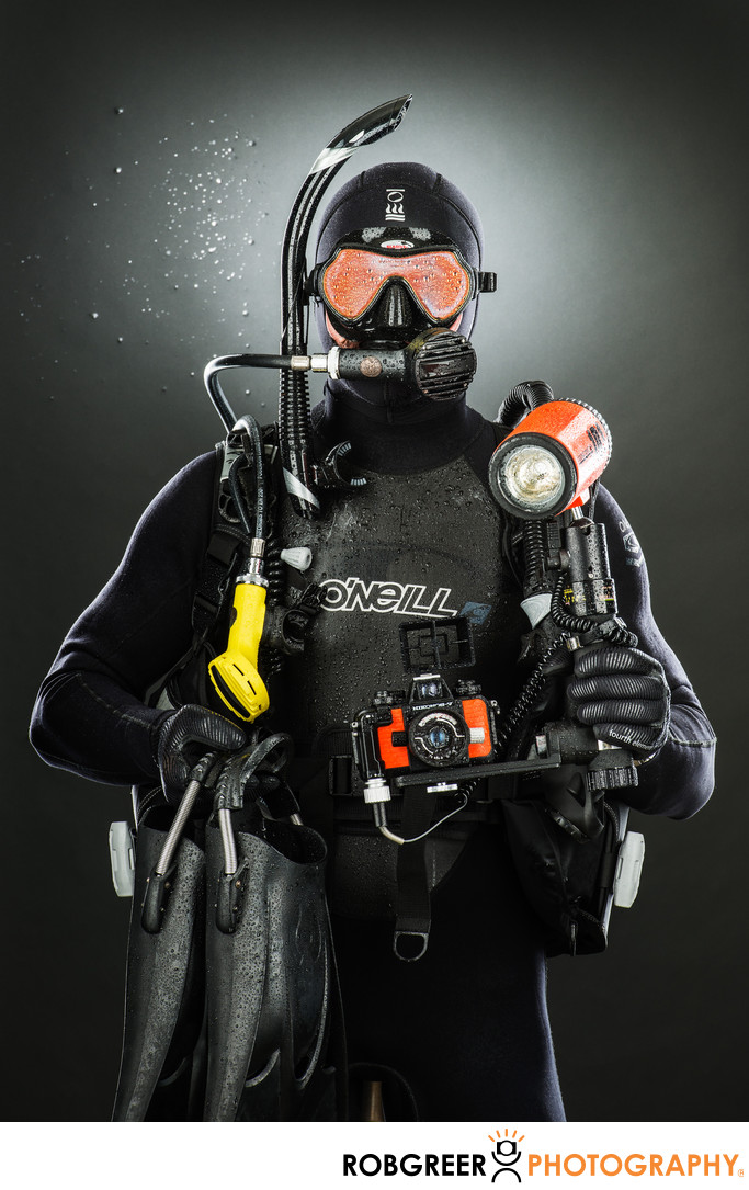 Christopher Dallaglio, Scuba Diver