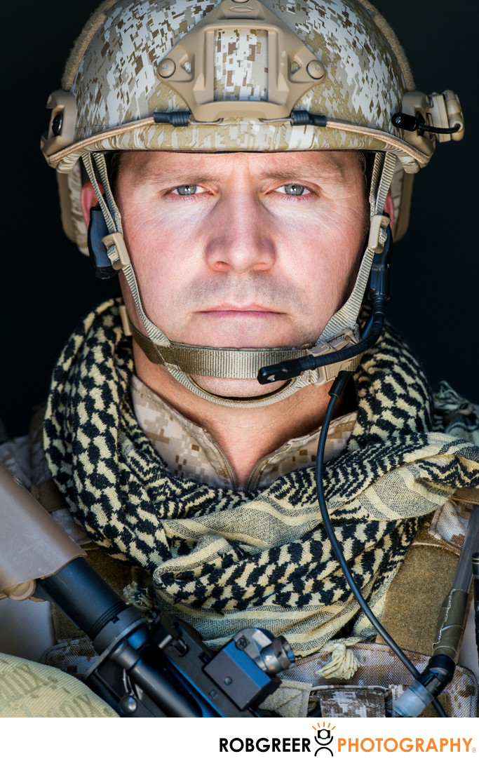 Navy Seal Lieutenant Commander Rorke Denver Los Angeles Portrait Photography Rob Greer