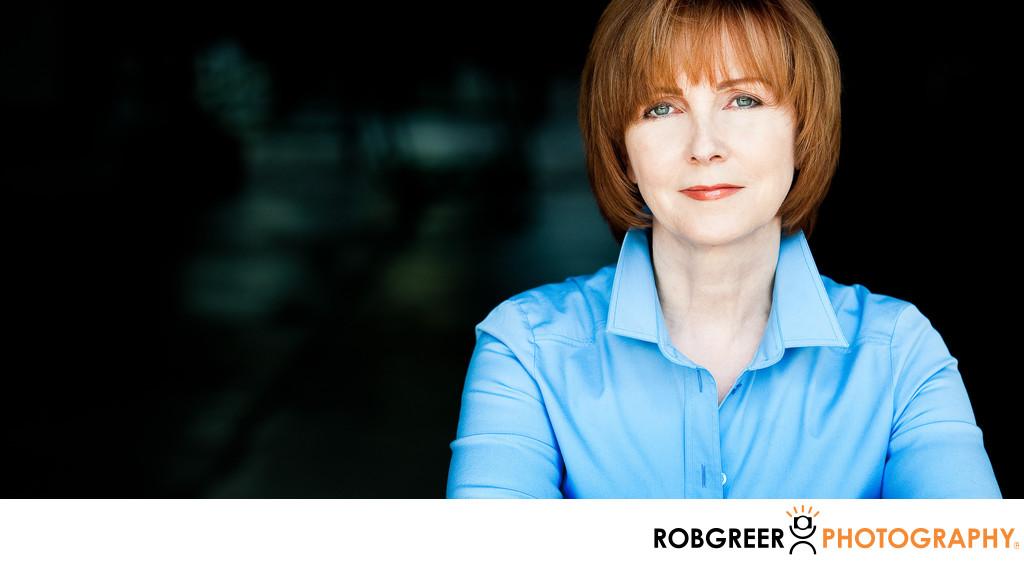 Individual Portrait Headshot Of Female Executive Los