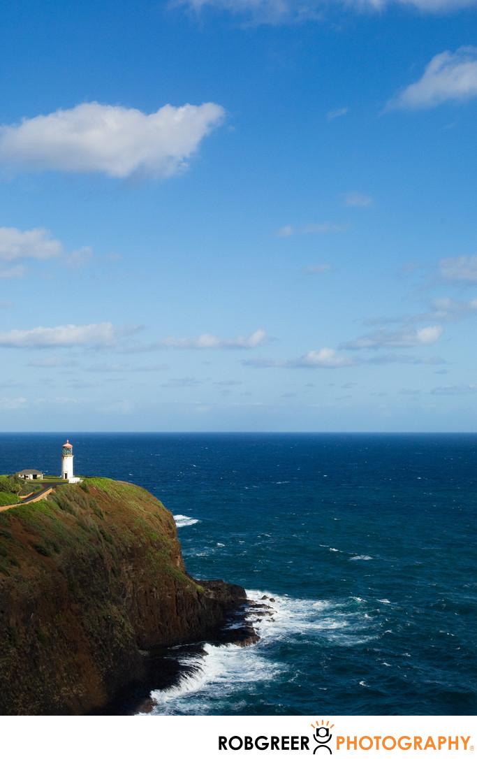 Kilauea Lighthouse & Wildlife Refuge in Kauai, HI