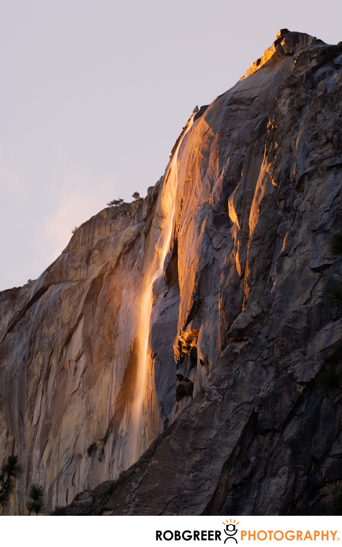 Best February Horsetail Falls Photograph in Yosemite