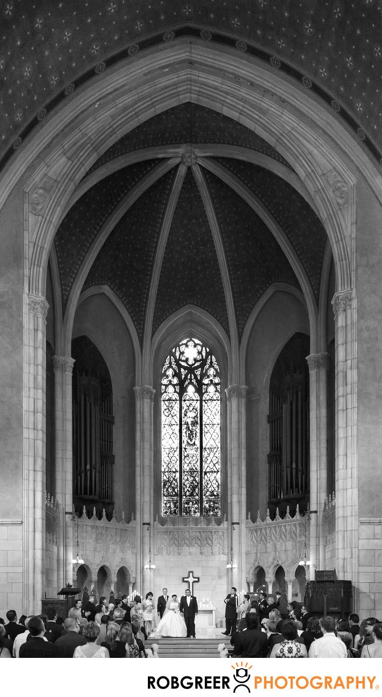 Westminster Presbyterian Church Wedding Photographer