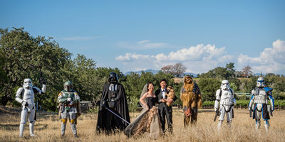 Best Star Wars Wedding Ever
