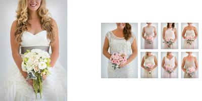 Bride & Bridesmaid Bouquets