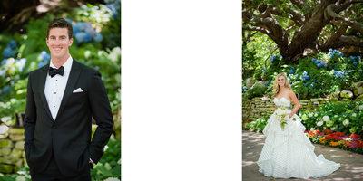 Groom Portrait & Bride Portrait