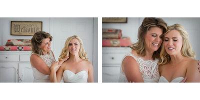 Special Moment Between Mother & Bride