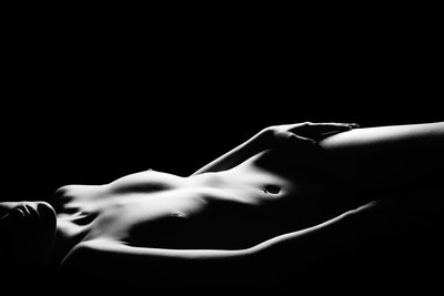 Sahara - Fine Art Nude