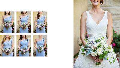 Wedding Bridesmaid Details at Gardens of La Bella Vita