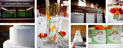 Los Angeles Union Station Wedding Details