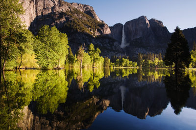 Amazing Yosemite Valley Flood in 2009 Nikon Calendar