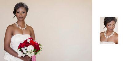 Bride at Rancho Palos Verdes Wedding