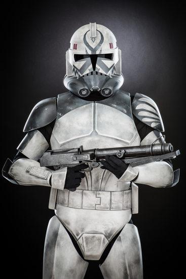 Ernest Flores, Gray Clone Trooper (CT-41911)