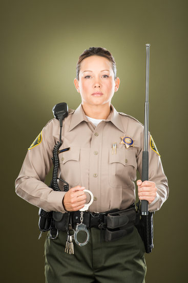Janine Hanson, Los Angeles Sheriff