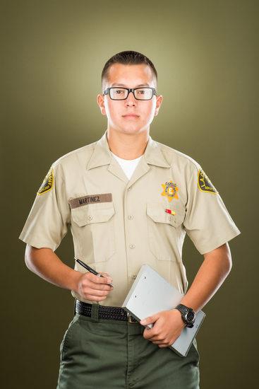 Young Hanson, Los Angeles Sheriff Explorer Program