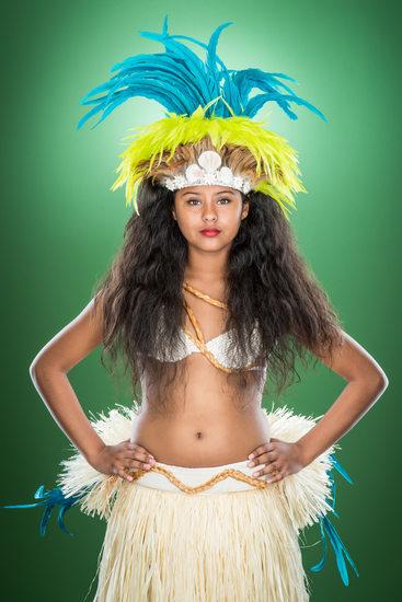Solineh Garcia, Tahitian Dancer