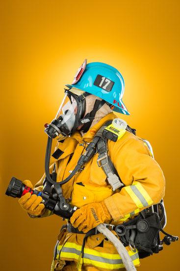 Leah Fleischmann, Los Angeles Firefigher Turnouts