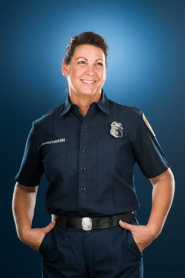 Leah Fleischmann, Los Angeles Firefighter Working