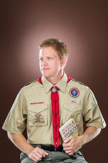 Andy Baker, Adult Leader for Troop 826