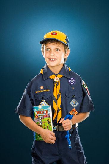 Fintan Harwood, Cub Scout