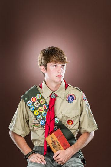 David Baker, Boy Scout