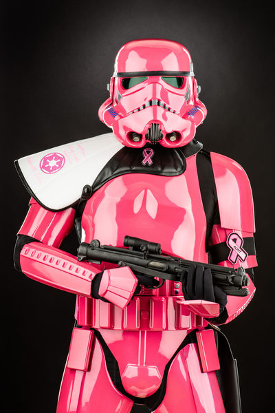 Michael Bender, Komen Race for the Cure Stormtrooper