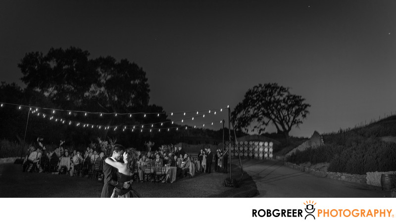 Same Sex Couple's First Dance at Sunstone Winery
