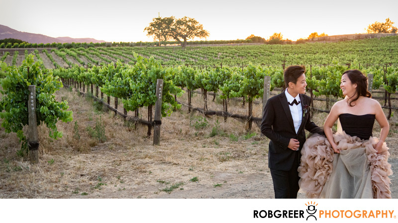 Couple Visits the Vineyard at Sunstone Winery
