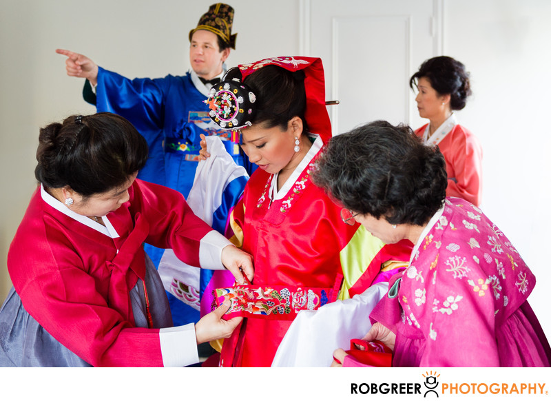 Traditional Korean Wedding Ceremony in Pasadena