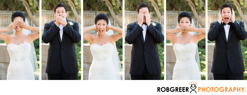 Quirky Wedding Photographers at Pasadena Wedding