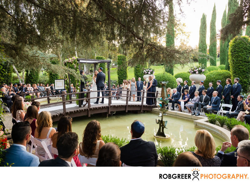 Ambassador Mansions & Gardens Wedding Ceremony