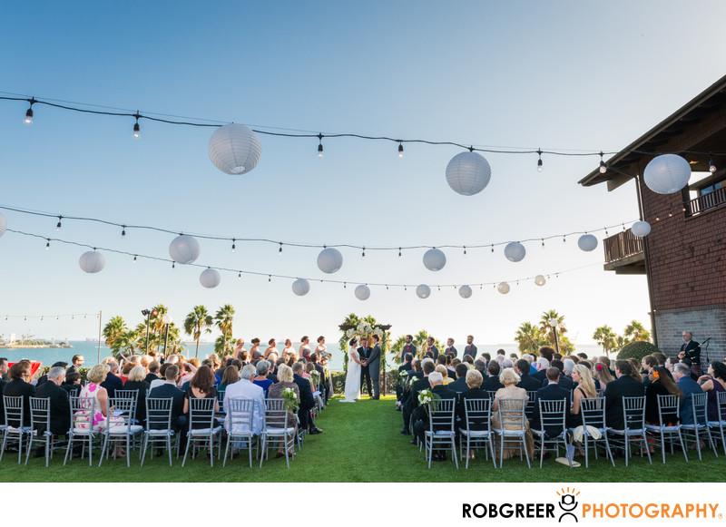 Long Beach Museum Of Art Wedding Ceremony