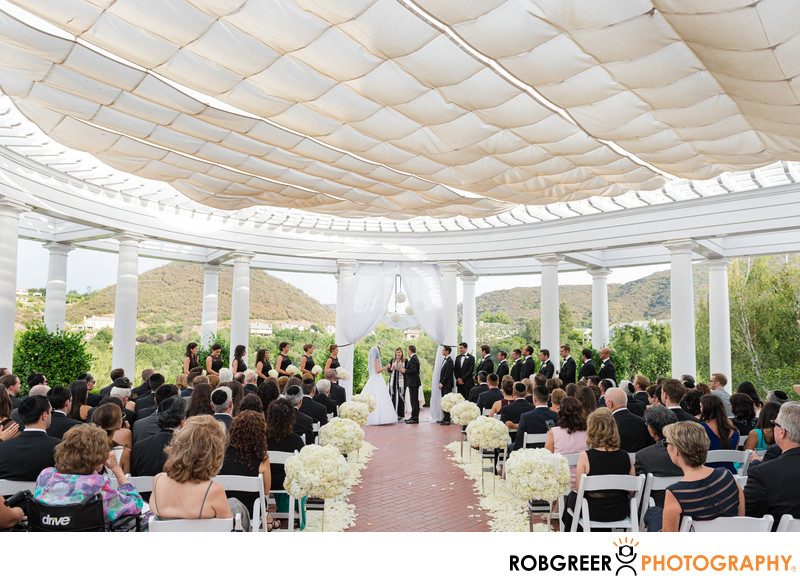 Jewish Wedding Ceremony at Sherwood Country Club
