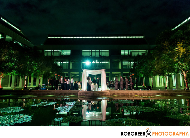 Skirball Cultural Center Wedding Photographer
