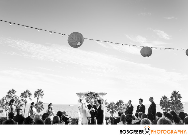 Long Beach Museum of Art Wedding Photographer