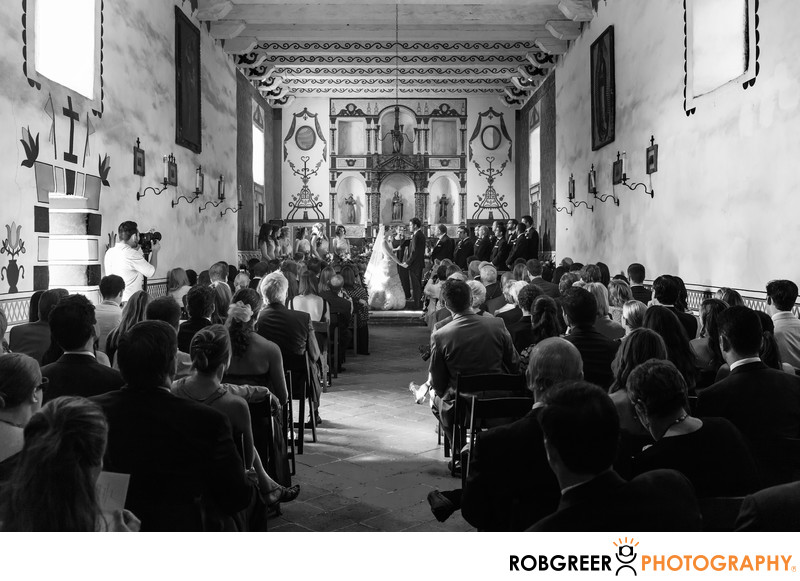 Presidio of Santa Barbara Wedding Photographer